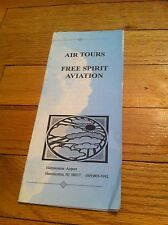 Vintage Air Tours Free Spirit Aviation Hammonton New Jersey Airport Brochure old
