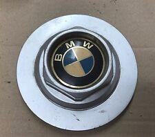 "BMW STYLE 3 15"" ALLOY WHEEL METAL CENTRE HUB CAP METAL SERIES 5 7 E32 E34 RARE"