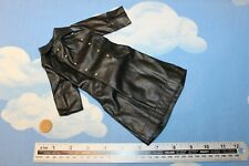 DRAGON MODELS 1/6TH SCALE WW2 GERMAN BLACK LEATHERETTE COAT CB36149