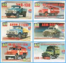Truck & Lkw-Modelle im Maßstab 1:72 aus Plastik