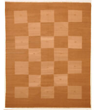 Brown 7' x 9' Kilim Rug Hand Knotted Persian Rug