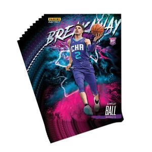 2020-21 Panini Instant NBA Breakway #5 LaMelo Ball Hornets Set Breaks PRESALE