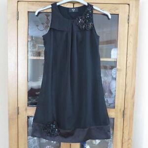 Ax Paris  short black evening dress size 8 excellent