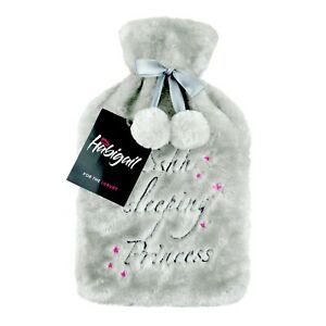 Luxury Hot Water Bottle with Extra Soft Faux Fur