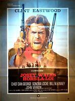 Plakat Kino Western Josey Wales Clint Eastwood - 120 X 160 CM
