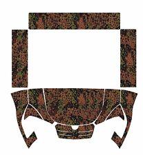 KIOTI MECHRON camo GERMAN W DECALS camouflage UTV SIDE 200 PS 2240 cushman 1600x