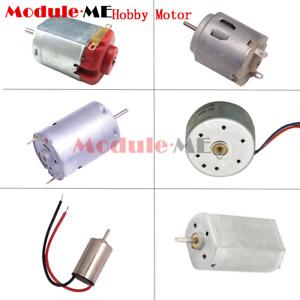 Micro Gear Motor DC 3V 12V Hobby Motor130/610/614/180/716/720 for Robotic Toy
