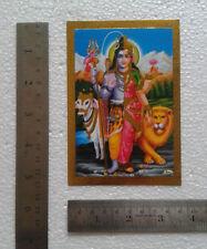 "Lord Shiva Devi Parvati Ardh-Narishwar - POSTER (Golden Foiled Paper 3.5""x5"")"