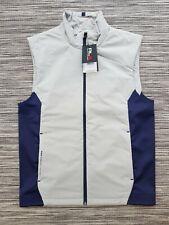 RALPH LAUREN RLX Golf/Sports Gillet Body Warmer Grey/Navy Small RRP £145