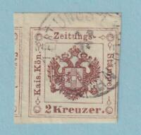 AUSTRIA PR3a  NEWSPAPER TAX  USED - NO FAULTS EXTRA FINE !