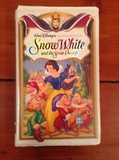 Walt Disney Masterpiece Collection Snow White And The Seven Dwarves VHS