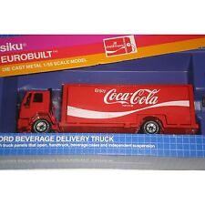Siko Eurobuilt Diecast Metal (W Germany) 1:55 Ford Coca-Cola BeverageTruck Mint!