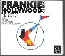 2 CD COMPIL DIGIPACK 18 TITRES--FRANKIE GOES TO HOLLYWOOD--THE BEST OF + POSTER