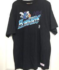Mitchell & Ness Men's T-Shirt Size XXL Charlotte Hornets Basketball Short Sleeve