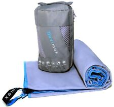 Microfiber Sports and Travel Towel - The Best Fast Drying Super Absorbent, Large