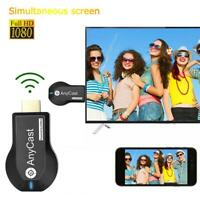 Wireless 1080p HDMI TV Stick Miracast AirPlay DLNA WiFi Display Receiver Dongle