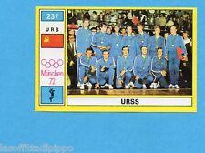 MUNCHEN/MONACO '72-PANINI-Figurina n.237- URSS SQUADRA -PALLAVOLO-Rec