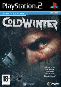cold winter playstation 2 goico game ps2 nuovo sigillato