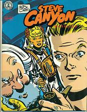 STEVE CANYON #6 by Milton Caniff (1984) Kitchen Sink Comics magazine FINE