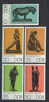 ALEMANIA/RDA EAST GERMANY 1976 MNH SC.1735/39 Small sculptures
