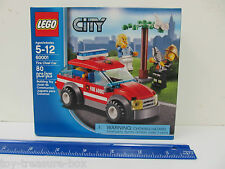 LEGO City - Model 60001 - FIRE CHIEF CAR - 80 piece set - Ages 5-12 years