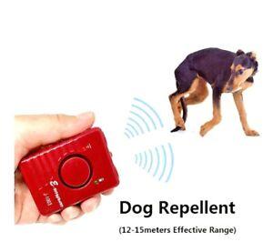 ultrasonic dog repeller pet chaser super powerful sonic deterrent trained dog