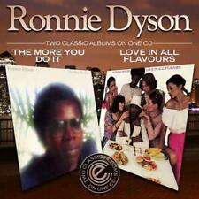 RONNIE DYSON Love In All Flavors / The More You Do It NEW & SEALED 70s SOUL CD