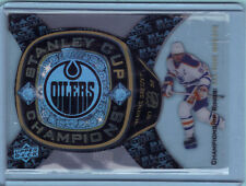 13/14 WAYNE GRETZKY BLACK DIAMOND ALL-TIME GREATS CHAMPIONSHIP RINGS STANLEY CUP