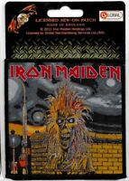 Official Merch Woven Sew-on PATCH Heavy Metal Rock Eddie IRON MAIDEN Iron Maiden