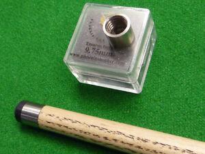 1 x Phoenix Titanium Ferrule for Snooker & Pool cues - Precision engineered