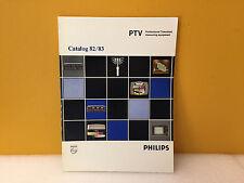 Philips PTV 1982 / 1983 Professional Television Measuring Equipment Catalog