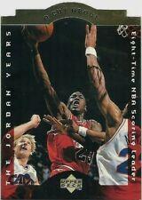 Michael Jordan 1996-97 Upper Deck A Cut Above #CA2 Die-Cut Insert Bulls NBA HOF