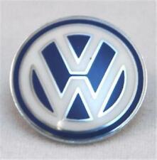 Original Klappschlüssel Volkswagen Schlüsselemblem Weiß  Blau 3B0837891