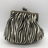 Carlisle Black Zebra Bag