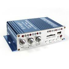 HY-501 Mini HiFi USB SD DVD MP3 Digital Player 20W+20W 2-CH Car Power Amplifier