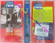 film VHS TOTO'E I RE DI ROMA il grande cinema di toto' FABBRI sealed(F104)no dvd