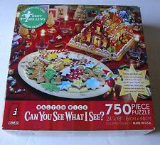 Walter Wick can you see what I see Ceaco 750 piece puzzle set,New factory sealed