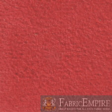 """RED Synergy Suede Headliner Upholstery Fabric 1/8 Foam Backed 60""""W Sold BTY"""
