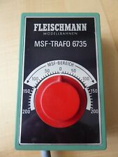 Fleischmann MSF-Trafo 6735, Funktion geprüft, o. OVP.