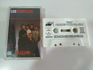 Los Sencillos de Placer Ariola 1990 - Cinta Tape Cassette
