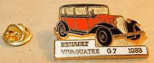 PIN'S CEF PARIS AUTOMOBILE VOITURE RENAULT VIVAQUATRE TAXI G7 1933 MADE FRANCE b