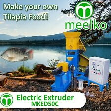 ELECTRIC EXTRUDER TO MAKE YOUR OWN TILAPIA FISH FOOD - MKED050C (FREE SHIPPING)