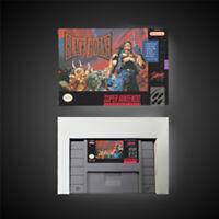 Blackthorn USA NTSC Version With Retail Box Action Game Super game Nintendo SNES