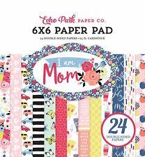 "Echo Park Double-Sided Paper Pad 6""X6"" 24/Pkg-I Am Mom, 12 Designs/2 Each"