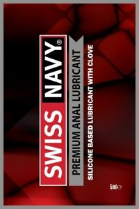 Swiss Navy Premium Anal Lube Sex Toy Personal Lubricant Relaxing Silicone Multi