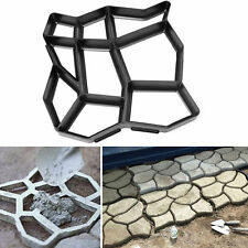 Garden Path Maker Reusable Mould Concrete Cement Stone Walk Pattern Patio Paver