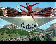 CORTINA D'AMPEZZO (ITALIE) STADE OLYMPIQUE / PATINAGE sur GLACE en 1960
