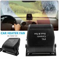 Portable Car Heater Fan Vehicle Ceramic Heating Defroster Demister 12V 150W AU