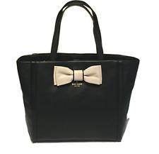 Kate Spade Murray Street Shoshanna Savannah Pebbled Leather Bow Tote Satchel Bag
