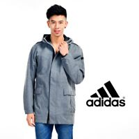 Adidas Mens Q4 Hooded Woven Jackets Free Tracked Post